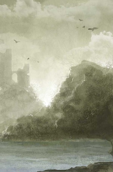 concept sketch for matte painting...