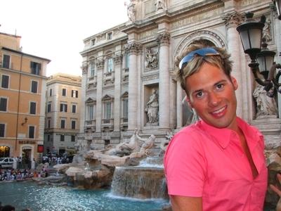 Rome - fountain